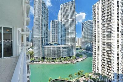 Condo For Sale: 801 Brickell Key Blvd #2110