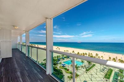 Fort Lauderdale Condo For Sale: 2100 S Ocean Ln #911