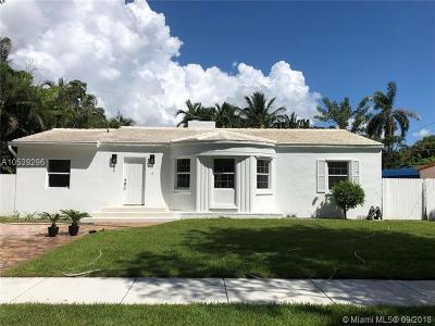 Miami Shores Single Family Home For Sale: 17 NE 105th St