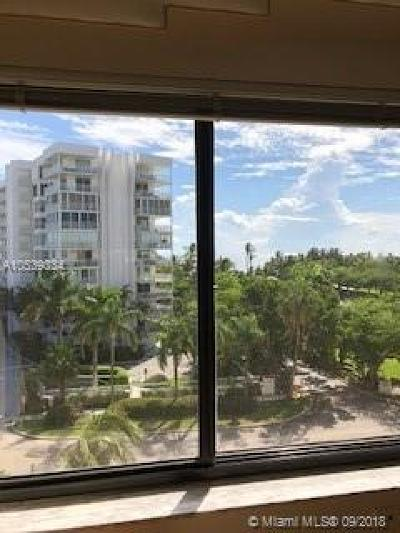 Key Biscayne Condo For Sale: 650 Ocean Dr #6A