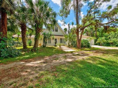 Jupiter Single Family Home For Sale: 9852 Whippoorwill Trl