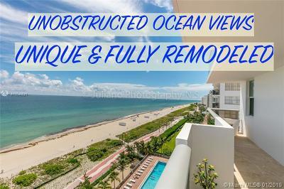 Miami Beach Condo For Sale: 6039 Collins Ave #1218