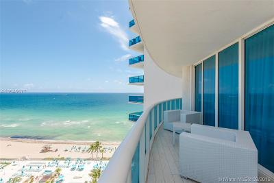 Hollywood Condo For Sale: 2711 S Ocean Dr #1601