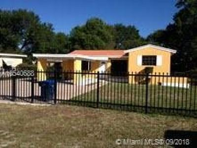 Miami Gardens Single Family Home For Sale: 3021 NW 164th St