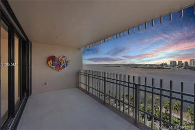 Miami Condo For Sale: 1 Grove Isle Dr #A1410