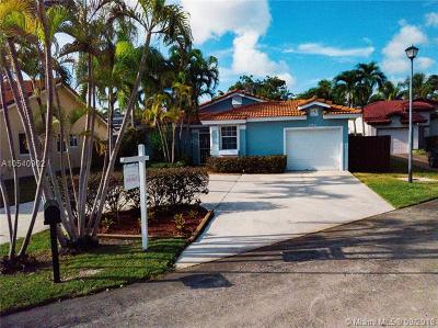 Cutler Bay Single Family Home For Sale: 8539 SW 211th Ter