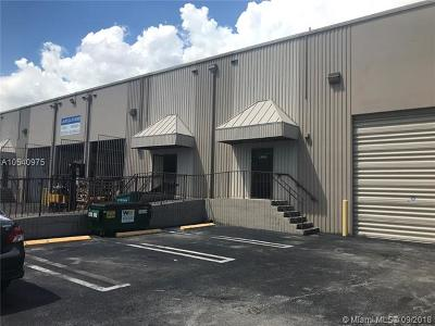 Miami Commercial For Sale: 2956 NW 72nd Ave