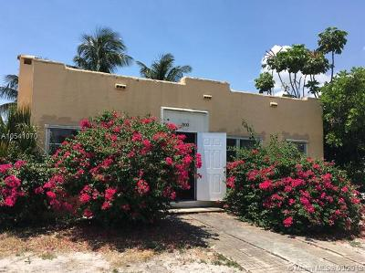 West Palm Beach Single Family Home For Sale: 500 Churchill Rd
