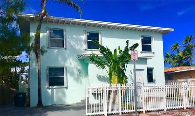 Miami Beach Multi Family Home For Sale: 931 79th Ter