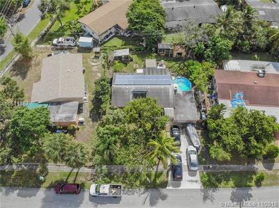 Fort Lauderdale Single Family Home For Sale: 3660 SW 23rd St