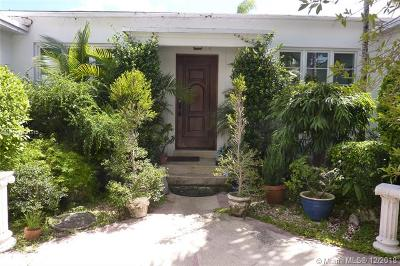 Miami Beach Single Family Home For Sale: 1530 W 22nd St