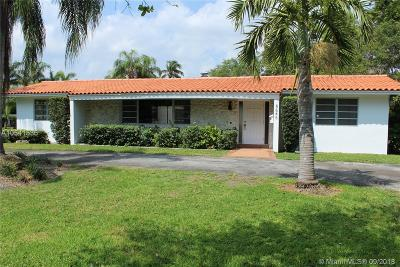 Coral Gables Single Family Home For Sale: 8646 Old Cutler Rd.