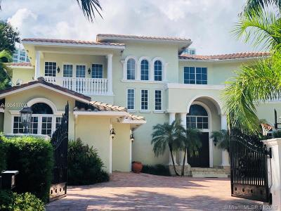 Golden Beach FL Single Family Home For Sale: $7,800,000