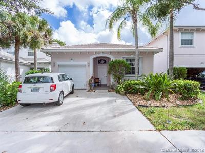 Coconut Creek Single Family Home For Sale: 4816 NW 20th Pl
