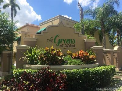 Doral Condo For Sale: 4620 NW 97th Pl #265