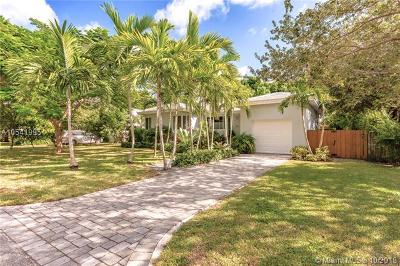 Miami Shores Single Family Home For Sale: 878 NE 91st Ter