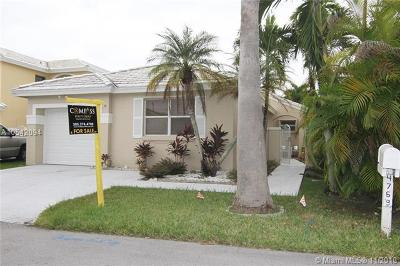 Miami Single Family Home For Sale: 4769 SW 154th Ct