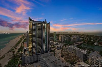 Miami Beach Condo For Sale: 6365 Collins Ave #2505