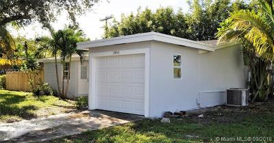 Fort Lauderdale Single Family Home For Sale: 2216 SW 34th Ter