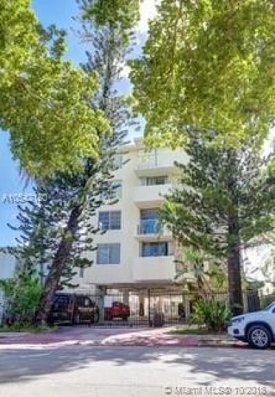 Miami Beach Condo For Sale: 631 Jefferson Ave #205