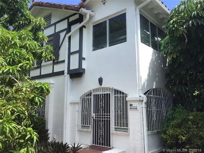 Miami Beach Single Family Home For Sale: 3005 N Bay Road