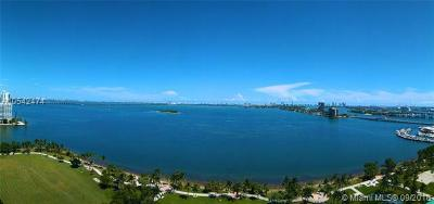 Miami-Dade County Condo For Sale: 1800 N Bayshore Dr #2003