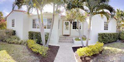 Miami Shores Single Family Home For Sale: 9500 N Miami Ave