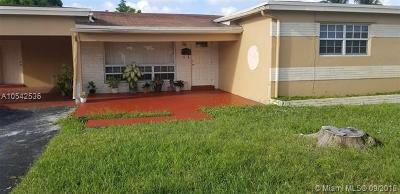 Miramar Single Family Home For Sale: 7421 Miramar Pkwy