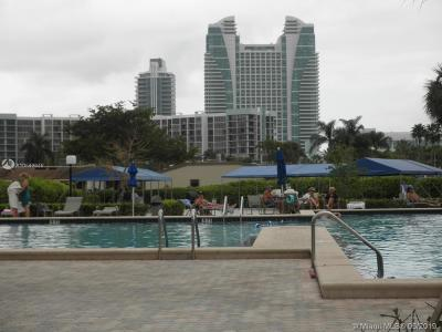 Hallandale Condo For Sale: 600 Three Islands Blvd #1521