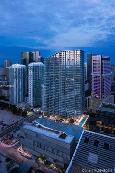 Brickell City Centre, Rise Brickell City, Rise Brickell City Center, Rise, Rise Condo, Rise Condominium Condo For Sale: 88 SW 7 St #3309