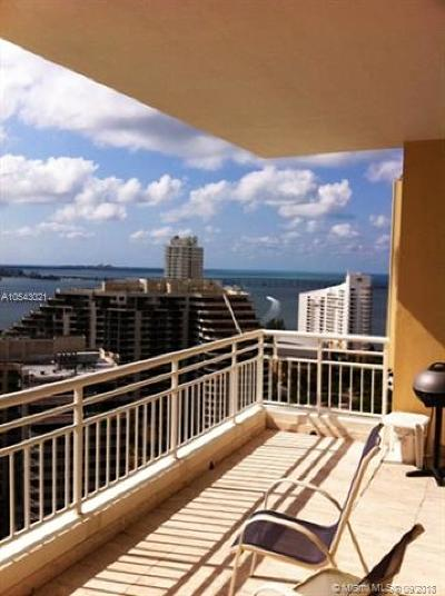 Miami Rental For Rent: 888 Brickell Key Dr #2607