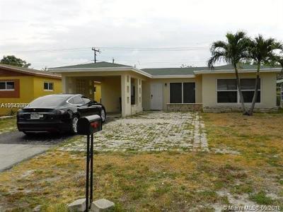 Pompano Beach Single Family Home For Sale: 1251 NE 39th St