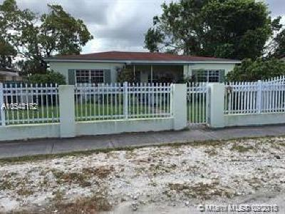Miami Single Family Home For Sale: 1520 NW 133rd St