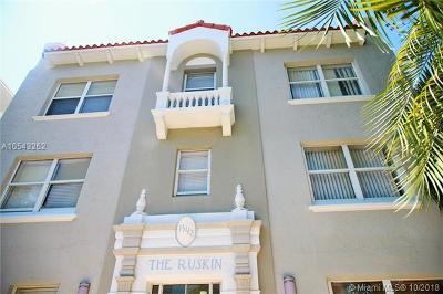 Miami Beach Condo For Sale: 1542 Drexel Ave #306