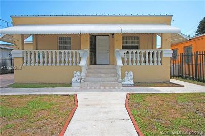 Miami Single Family Home For Sale: 7657 NW 6th Ct