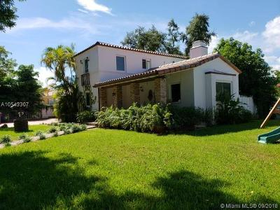 Miami Single Family Home For Sale: 3700 SW 3rd Ave