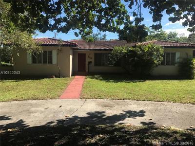 Miami Shores Single Family Home Pending Sale: 138 NE 111th St
