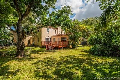 Coral Gables Single Family Home For Sale: 910 Capri St