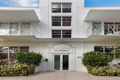 Miami Beach Condo For Sale: 810 Pennsylvania Ave #2