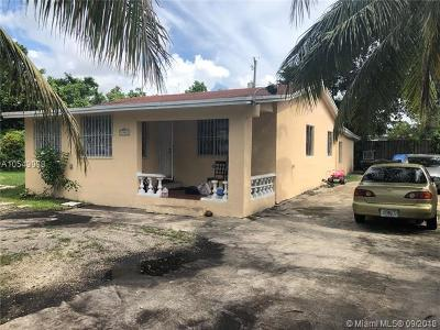 Miami Single Family Home For Sale: 1805 NW 114th St