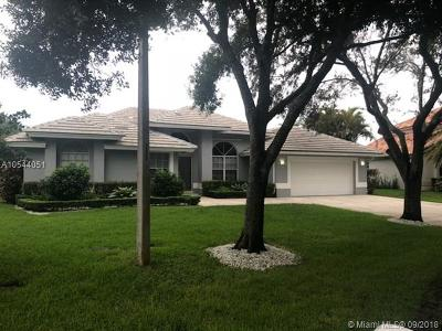 Coral Springs Single Family Home For Sale: 4233 NW 62nd Ave
