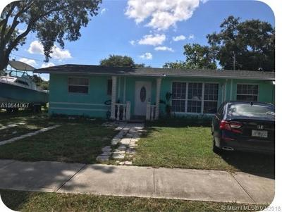 West Park Single Family Home For Sale: 3520 SW 32nd Ave