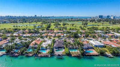 Miami Beach Single Family Home For Sale: 605 N Shore Dr