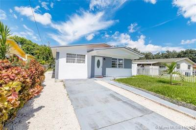 Miami FL Single Family Home For Sale: $279,900