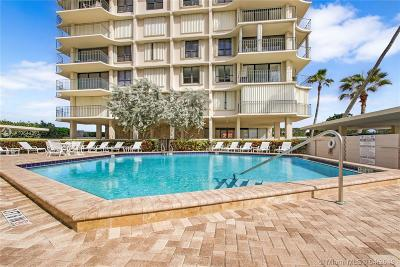 Riviera Beach Condo For Sale: 5480 N Ocean Dr #A3D