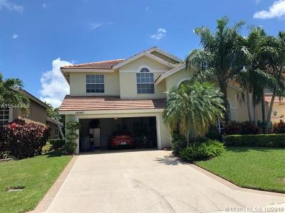 Boca Raton Single Family Home For Sale: 10967 La Salinas Cir