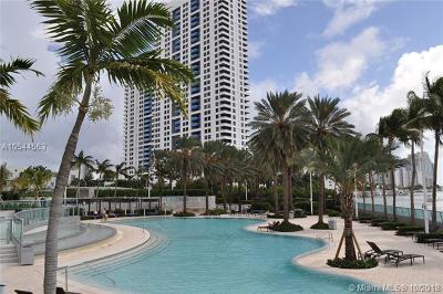 Miami Beach Condo For Sale: 1500 Bay Rd #848S