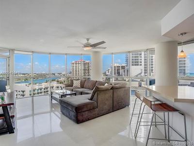 Miami Beach Condo For Sale: 6301 Collins Ave #1407