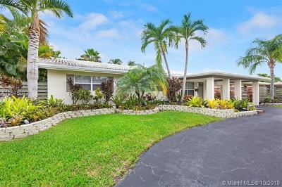 Fort Lauderdale Single Family Home For Sale: 2250 NE 53rd St