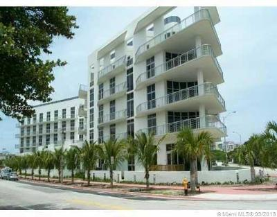 Miami Beach Condo For Sale: 2001 Meridian Ave #109